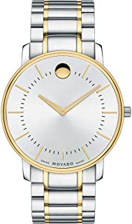 Movado Soleil Watch for Men - Analog Stainless Steel Band - 0606689