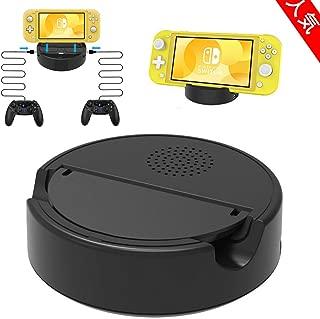 Nintendo Switch Lite 充電器 Maxku 充電スタンド ニンテンドスイッチ 卓上ホルダー 熱対策対応 過充電保護 有線コントローラー対応可能 充電スタンド
