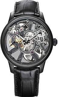 Maurice Lacroix Masterpiece Skeleton 43mm Watch | Black/Black
