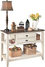 Signature Design by Ashley Whitesburg Dining Room Server, Brown/Cottage White