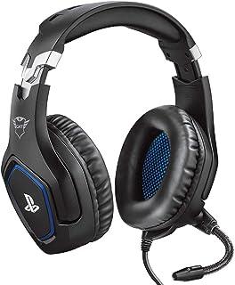 Trust Gaming GXT 488 Forze [Officiellt licensierad för PS4] Spelheadset för Playstation 4 med flexibel mikrofon och inbygg...