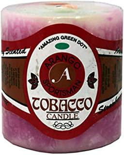 Smoker's Candle - Strawberry Scent - 1 Candle