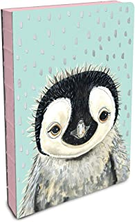Studio Oh! Hardcover Compact Coptic-Bound Journal, Rachel Brown Pete the Penguin on Mint