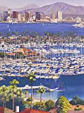 AZSTEEL A Clear Day In San Diego Poster   Poster No Frame