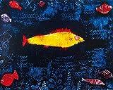 1art1 Paul Klee - Der Goldene Fisch, 1925 Poster Kunstdruck