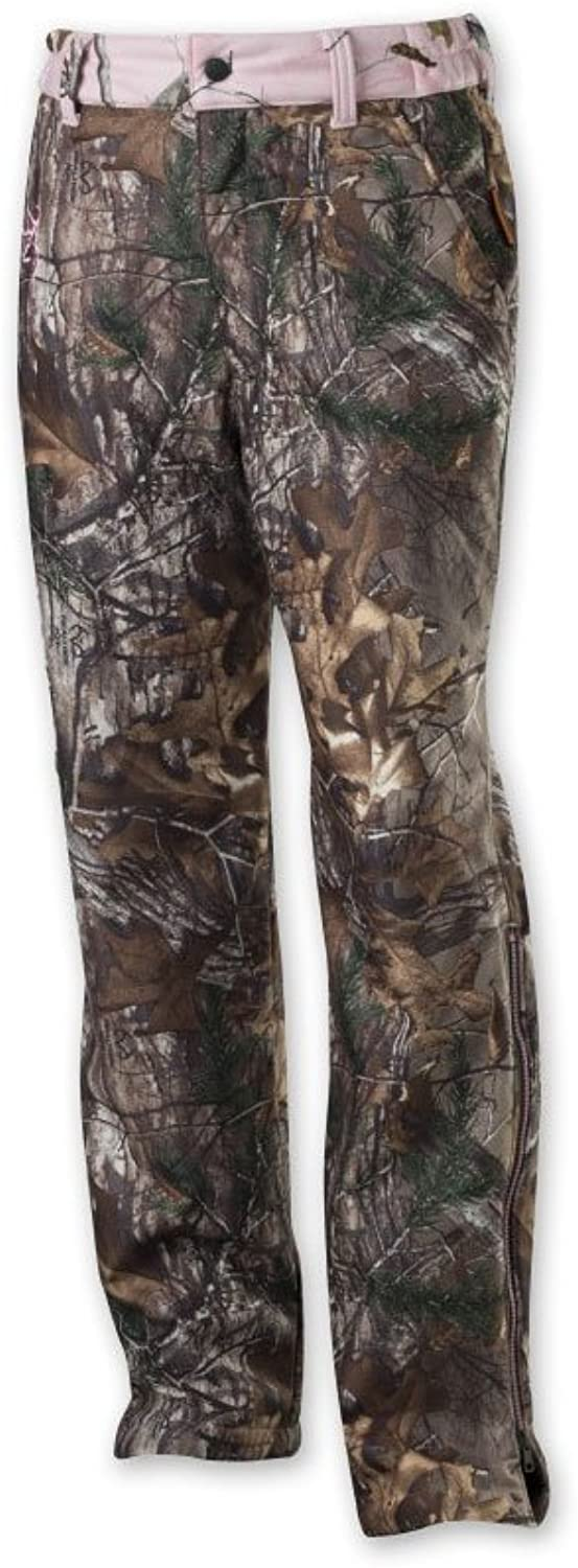 Browning 3026102403 Hell's Belles Soft Shell Pants, Realtree Xtra, Large