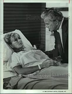 Vintage Photos 1986 Press Photo Linda Evans and John Forsythe act in The Series Dynasty