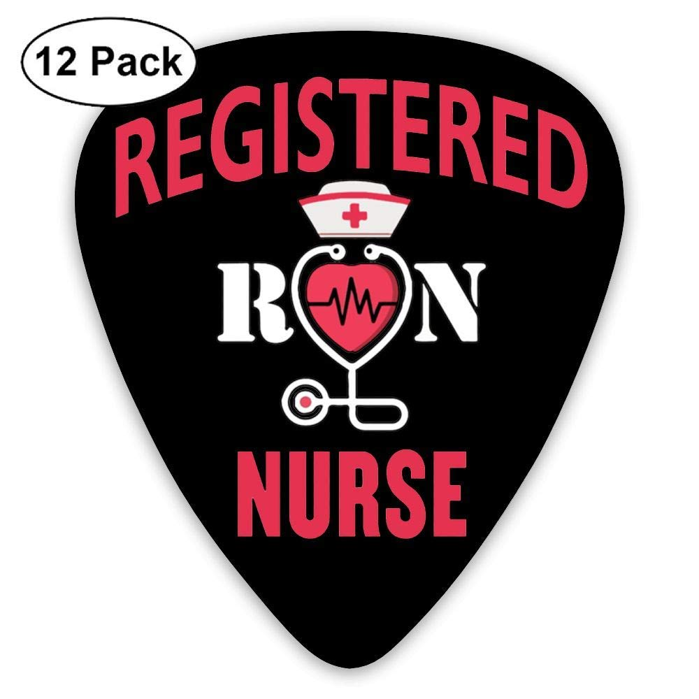 RN Registered Nurse Funny 351 Shape Classic Picks 12 Pack For Electric Guitar Acoustic Mandolin Bass: Amazon.es: Instrumentos musicales