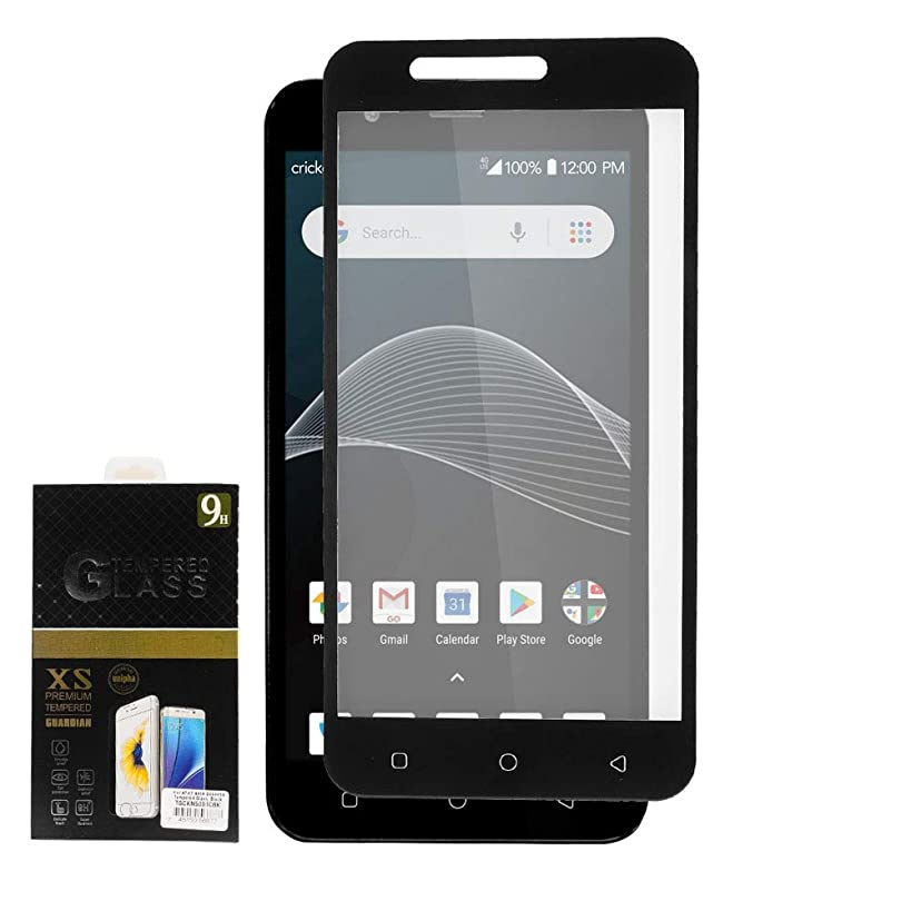Z-GEN - AT&T Axia, Cricket Vision, QS5509A - Tempered Glass Screen Protector - Black Frame