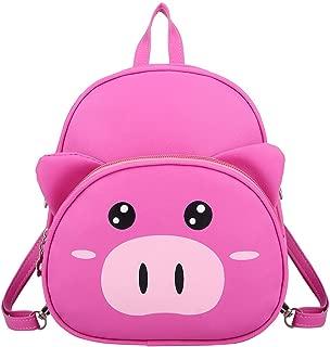 Goddesslili Mini Backpack, Cute Piggy Cartoon Small Backpack for Boys Girls