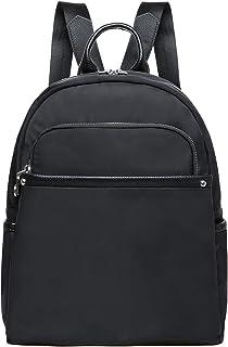 KAUKKO Rucksack Damen Klein, Modern Tagesrucksack,Lässig Daypack mit Vielen fächern, Wasserdicht,13L