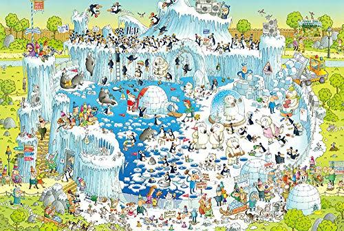 N/R Adult Puzzle Holz hoher Schwierigkeitsgrad 1000 Stück EIS und Snow Park Paar Dekompression Puzzle Spielzimmer Dekoration Malerei