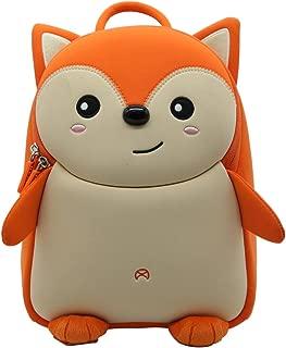 Alnaue Waterproof 3D Animal Preschool Kids Backpack Cute Luch Box Toddler School Bag