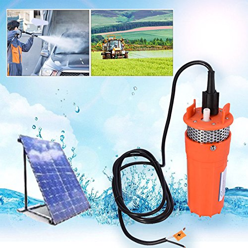 12V Solarbetrieben Tauchpumpe Brunnenpumpe Wasserpumpe Solarpumpe