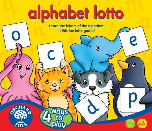 Orchard Toys Alphabet Lotto by Orchard Toys