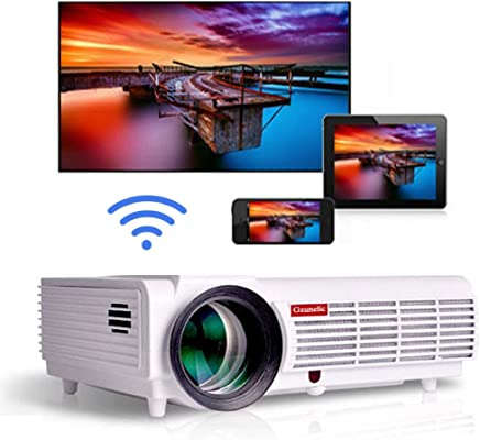 Gzunelic 4200 lumens Android Wifi 1080p Video Projector LCD LED Full HD Theater Proyector with...