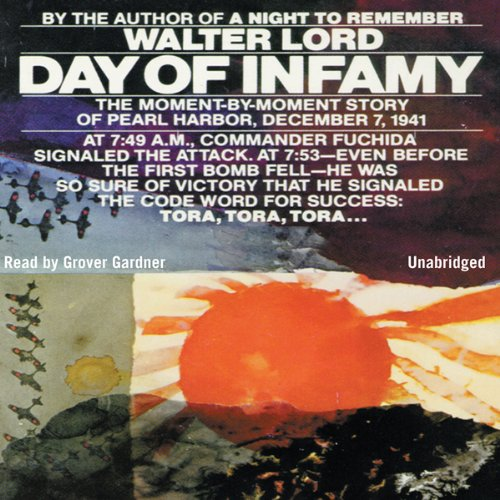 Day of Infamy audiobook cover art