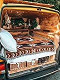 Peel Forest 50'X60' Picnic Blanket Rugs Camping Bedding Navajo Aztec Tribal Throws for Home and Outdoors Road Tripper,Wanderlust