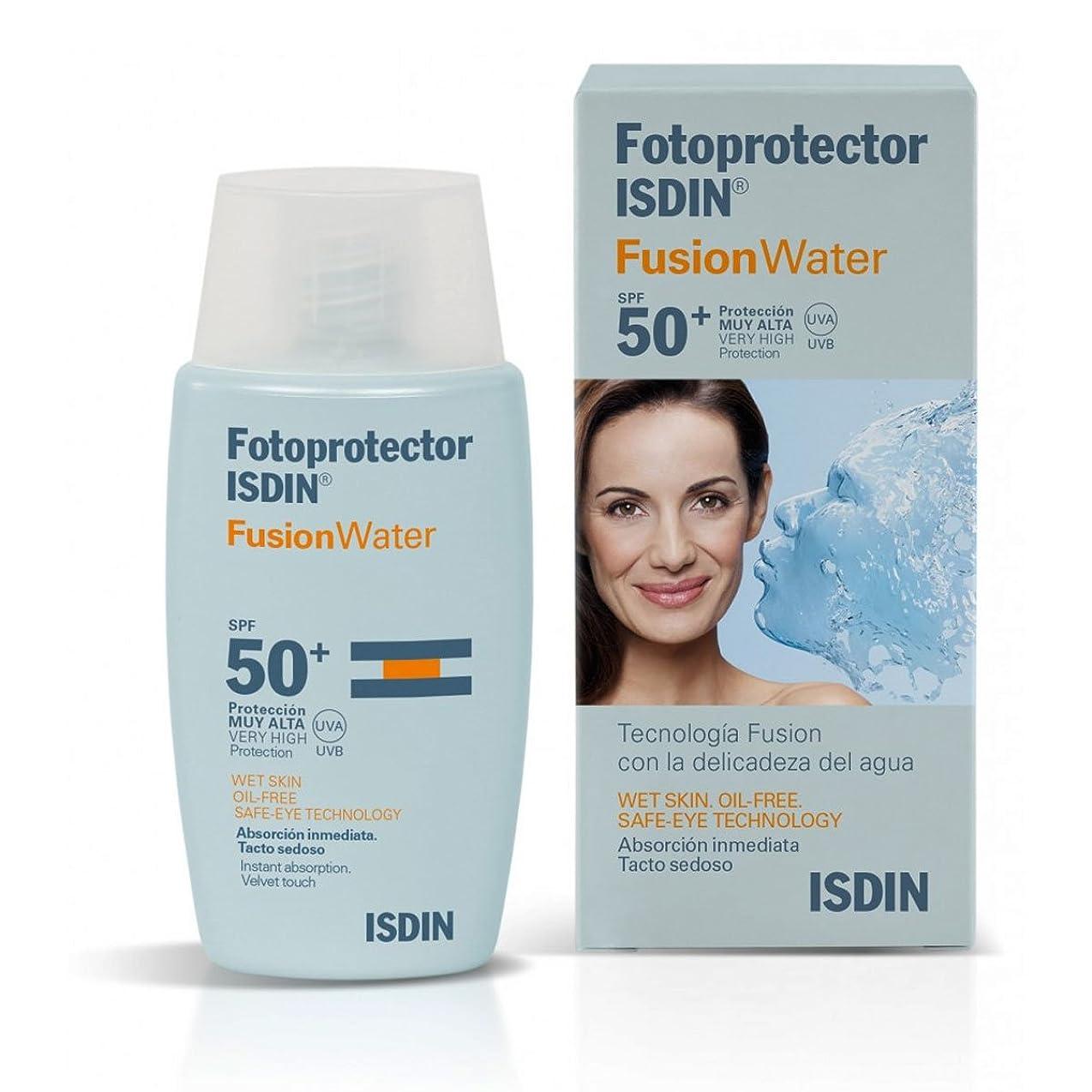 ヘルシーうれしい翻訳者Isdin Sunscreen Fusion Water Spf50+ 50ml [並行輸入品]
