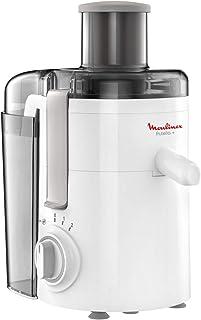 Moulinex JU3701 Frutelia+, Extracteur de jus à froid, doté d'une grande ouverture, facile à nettoyer, 2 vitesses et mode P...