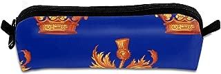 Outlander Book Thistle Pencil Pouch Bag Stationery Pen Case Makeup Box with Zipper Closure 21 X 5.5 X 5 cm
