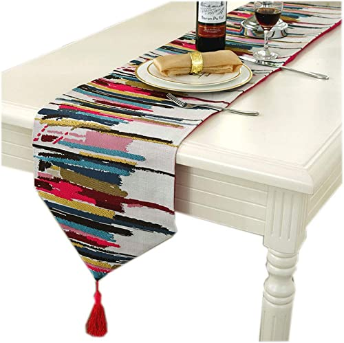 ahorre 60% de descuento Table Table Table Runners - Colorful Jacquard European Table Flag Mantel Toalla Table Table Cloth TV Gabinete Cubierta Towel Table Home Long Strip Fabric Bed Flag Bed Bed Towel   -   (Tamaño  32x200cm)  comprar descuentos