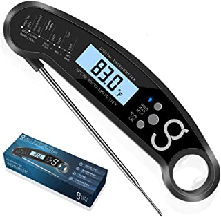Digital Instant Meat Food Thermometer - BBQ or Grilling, Magnetic with Probe | Electric and Wireless, Quick, Smart Read fo...