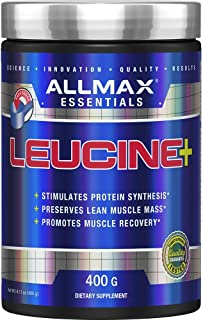 ALLMAX Nutrition Leucine, 5,000 mg, 14.1 oz (400 g)