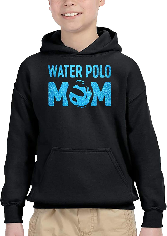 XKDIJIUJB Blue Glitter Water OFFer Mom Sweatshi Pullover Limited price Casual Hooded