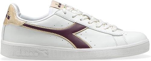 Diadora Herren Game P Wn Gymnastikschuhe, Bianco, 36 EU