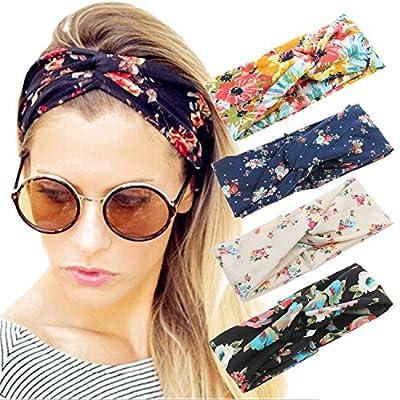 4 Pack Women Headband