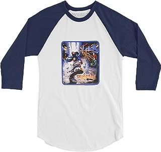 Limp Bizkit Men's Baseball Jersey Navy Blue
