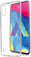 Amazon Brand - Solimo Mobile Cover (Soft & Flexible Back case) for Samsung Galaxy M10 (Transparent)