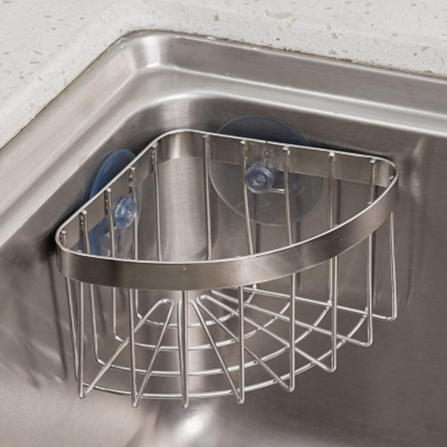 Dish Cloth Indianapolis Mall Online limited product Hanger+Sponge Holder +Corner Tr Caddy Space Sink Save