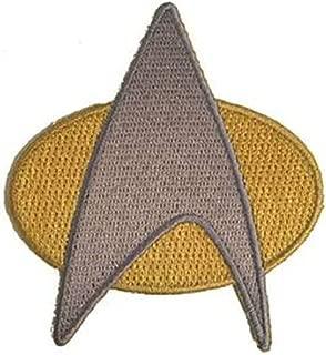 Star Trek Next Generation Starfleet Uniform Cosplay Iron on Patch (MTS4)