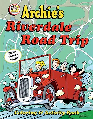 Archie's Riverdale Road Trip: Coloring & Activity Book