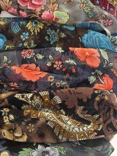 Imprimé floral coloré headwrap. en 6 couleurs.
