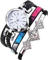TYPIFY ® Women's Black Multicolor Bracelet Rhinestones Analogue Watch