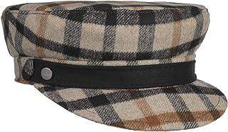 Lierys Cappello Baker Boy Stewart Donna - Made in Italy Cappellino da Berretti con Visiera Invernale Visiera, Fodera Autun...