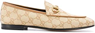 GUCCI Luxury Fashion Womens 431467KY9809661 Beige Loafers | Fall Winter 19