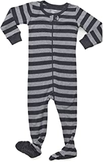 496cf93efc Leveret Striped Baby Boys Footed Pajamas Sleeper 100% Cotton Kids   Toddler  Pjs (0