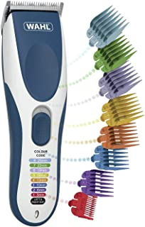 Wahl Hair Clippers for Men, Colour Pro Cordless Head Shaver Men's Hair Clippers with Colour Coded Clipper Guides