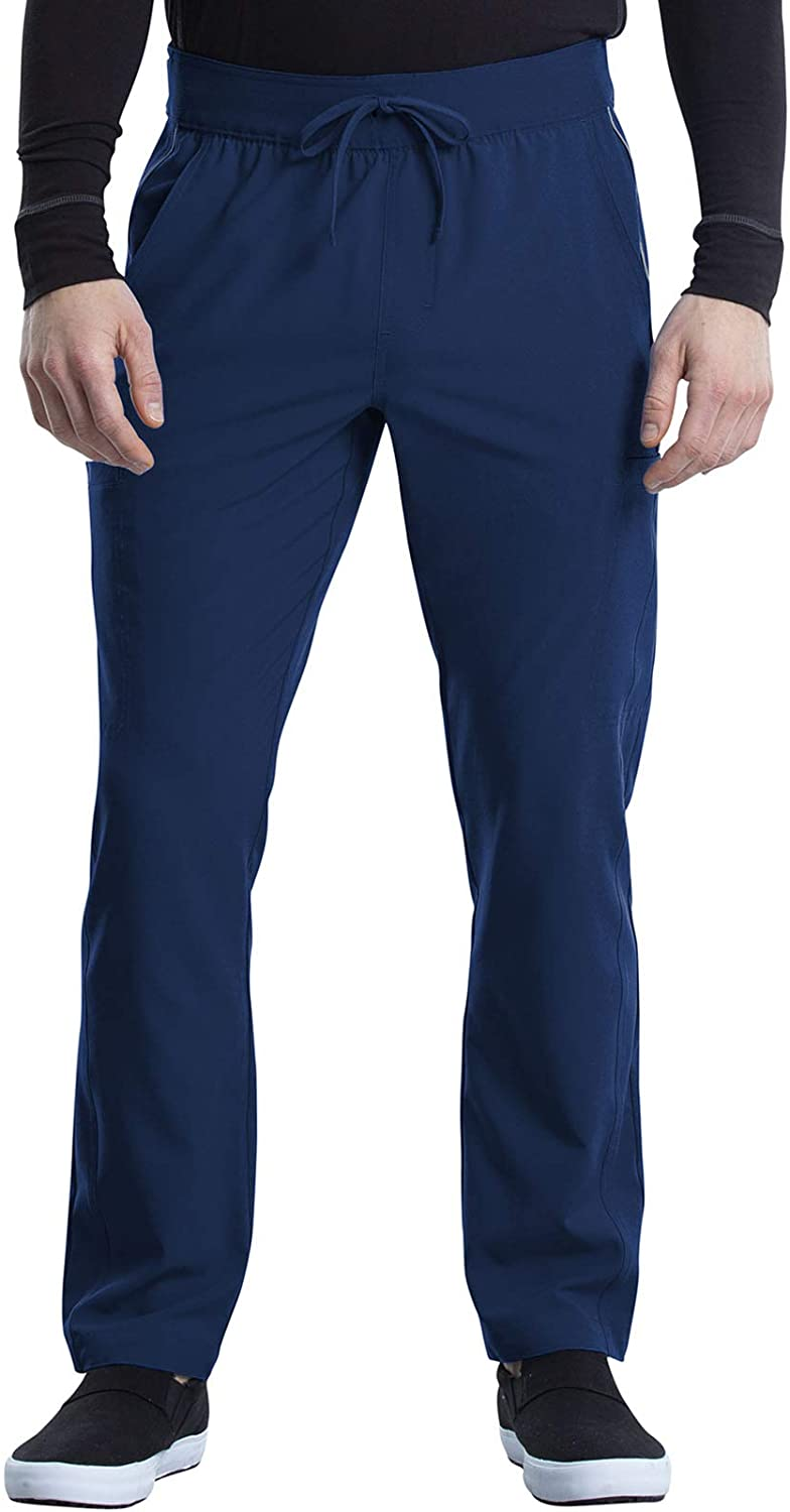 Cherokee Excellent iFlex Men Scrubs Pant Cargo Drawstring CK00 Tapered Leg Our shop OFFers the best service