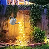 LIUDADAGartenlampen Gießkanne Solar Lichterketten Solarlampen Außen Garten Wasserdicht Gartendeko LED Garten Gießkanne Lichter für Outdoor Garten Balkon Hof Auffahrt