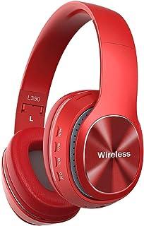 YiYunTE Auriculares Bluetooth Inalambricos sobre Oreja Auriculares de Diadema Cerrados Cascos Plegables Auricular Estéreo ...