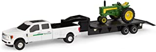 John Deere 1:64 Scale 530 Tractor with Ford F350 Dealer Truck and Trailer