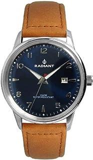 Radiant new kensington Mens Analog Quartz Watch with Leather bracelet RA434603