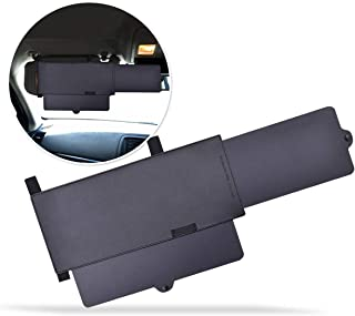 Zone Tech Car Windshield Sun Visor - Premium Quality Universal Extendable Sun & UV Rays Block Visor Extender