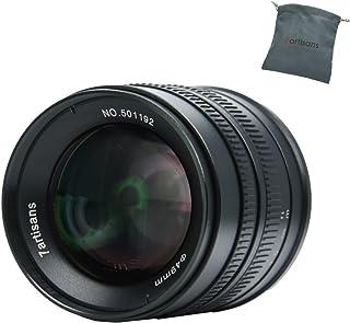 7artisans APS-C 55mm F1.4 Manual Fixed Lens for Fuji X Mount Cameras X-A1 X-A10 X-A2 X-A3 X-AT X-M1 XM2 X-T1 X-T10 X-T2 X-...
