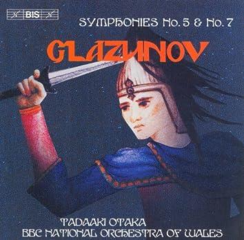Glazunov: Symphonies Nos. 5 and 7